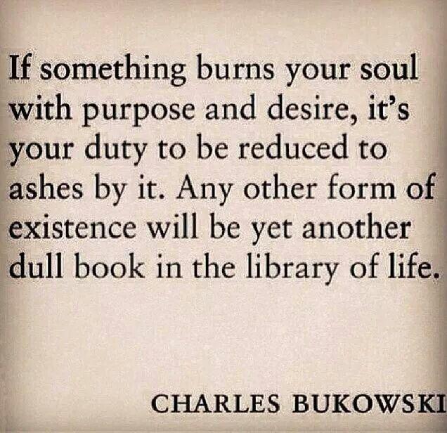 If you like Charles Bukowski