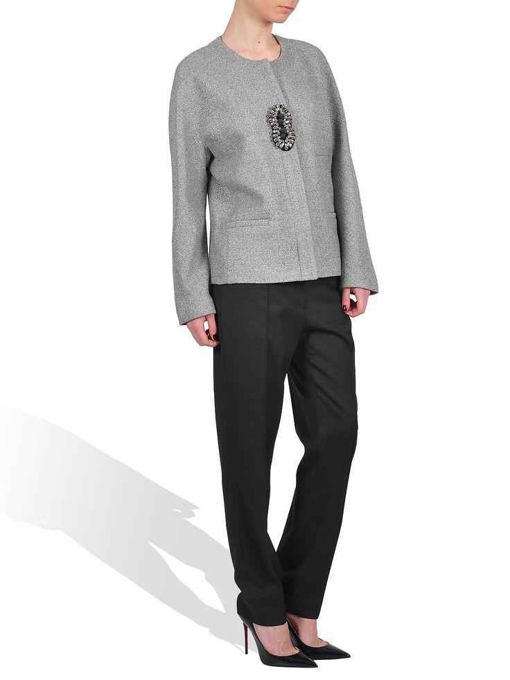 Lena Criveanu grey blazer  http://www.gabiurda.ro/sacoul-blazerul-manevra-vestimentara-de-toamna/