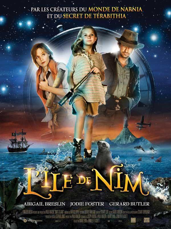 L'Ile de Nim est un film de Jennifer Flackett avec Gerard Butler, Jodie Foster. Synopsis : Nim est une petite fille de 8 ans vivant avec son père sur une île sauvage, petit paradis désert au milieu de l'Océan Indien. Entre ses amis imaginair