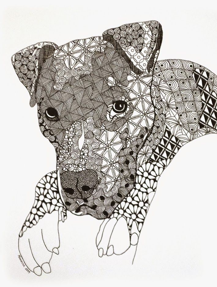 Zentangle: Welcome CZT XVI !