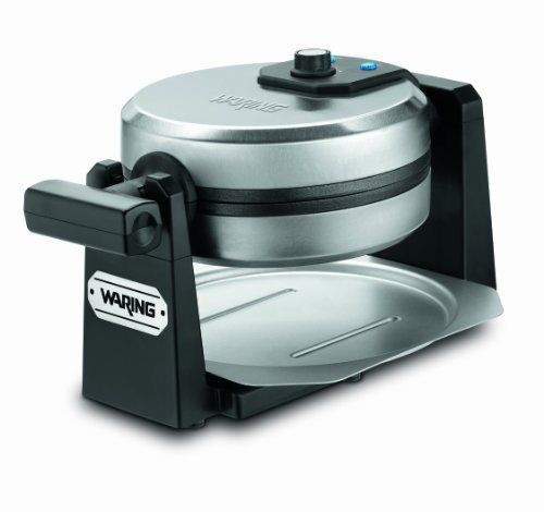 Electric Belgian Waffle Maker Stainless Commercial Baking Breakfast Non-Stick #Waring