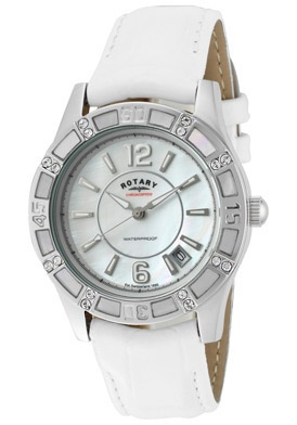 Rotary Watch Women's White Swarovski...     $79.00
