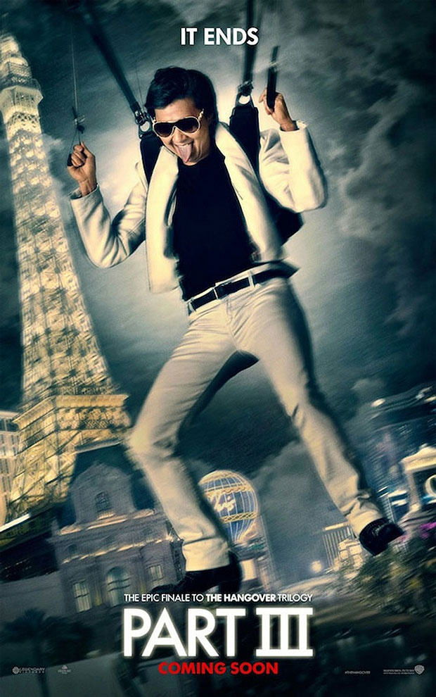 Mr Chow parachutes into Sin City in new movie posters for The Hangover III   Radio Times