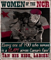 Women of the NCR!  (Although I sided with the Legion.)