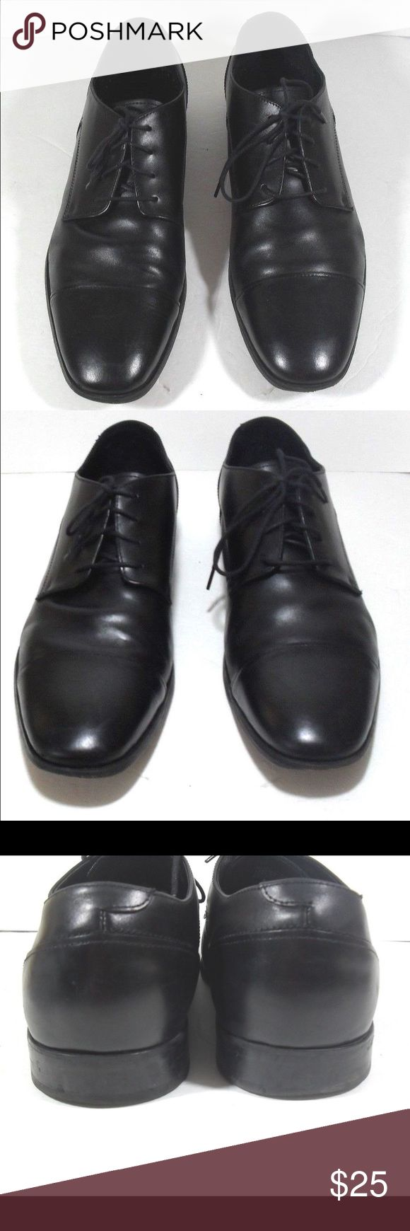 Florsheim Imperial Leather Lace up Oxfords Florsheim Imperial Size 13D Black Lace Up Oxford Dress Shoes-Great condition, pre-owned. Florsheim Shoes Oxfords & Derbys