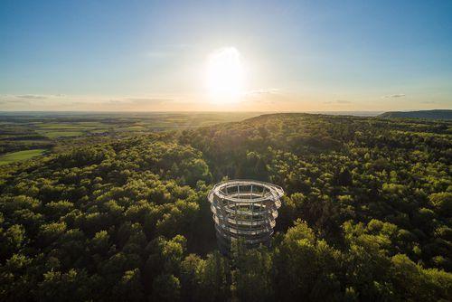 Baumwipfelpfad Steigerwald ein Riesenerfolg #Pressemitteilung #100000 #Besucher #Baumwipfelpfad #Steigerwald #Ausflugsziel #Bayern