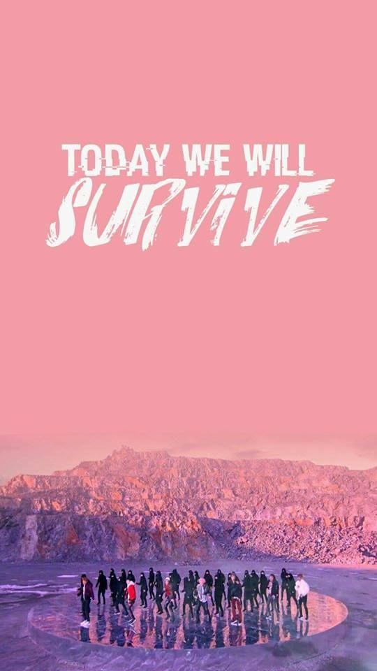 Hoje nós vamos sobreviver