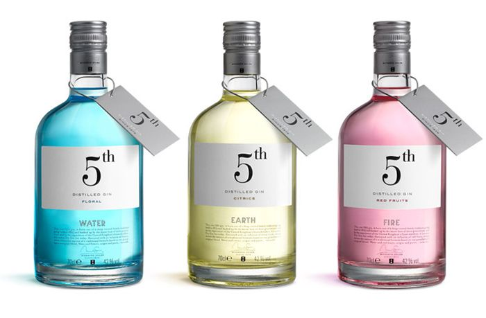 5th Distilled Gin | Designer: Puigdemont Roca5Th Gin, 5Th Distilling, Packaging Design, Graphics Design, Puigdemont Roca, Products Design, Gin Packaging, Distilling Gin, Labels Design