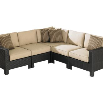 Hampton Bay Patio Furniture Sectional: 20 Fascinating Patio .