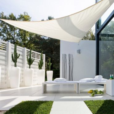 voile d 39 ombrage cour arri re pinterest patios pergolas and gardens. Black Bedroom Furniture Sets. Home Design Ideas
