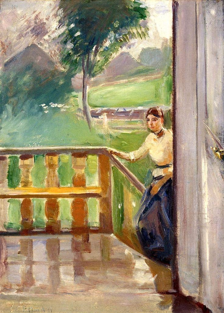 bofransson:  Summer Edvard Munch 1889