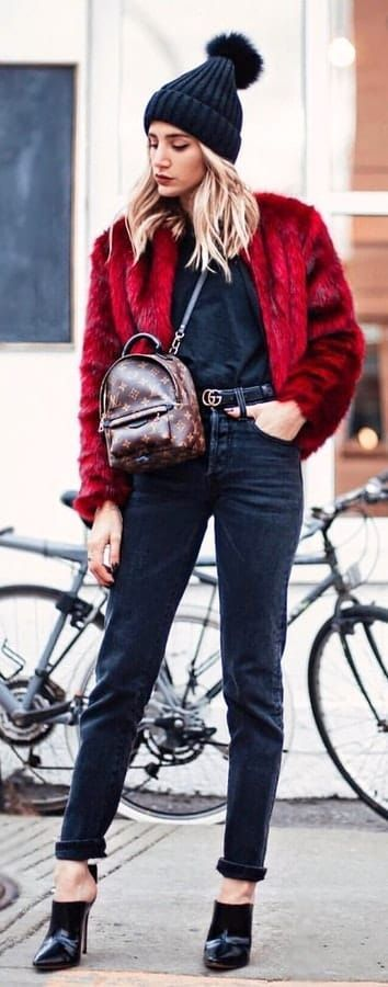 45 outgoing winter outfits to impress – # impress #outfits #outgoing #winter #zum