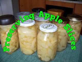 A Pretty Talent Blog: Preserving Apple Slices