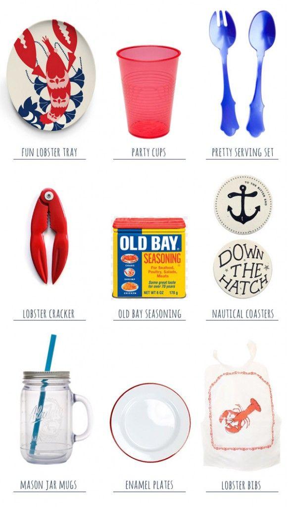 Summer Essentials: A Lobster Boil