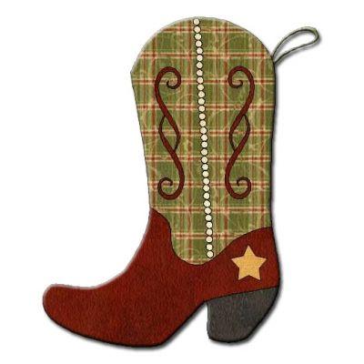 western/cowboy christmas stocking | Western Christmas Stocking Patterns http://shop.ajpadilla.com/index ...