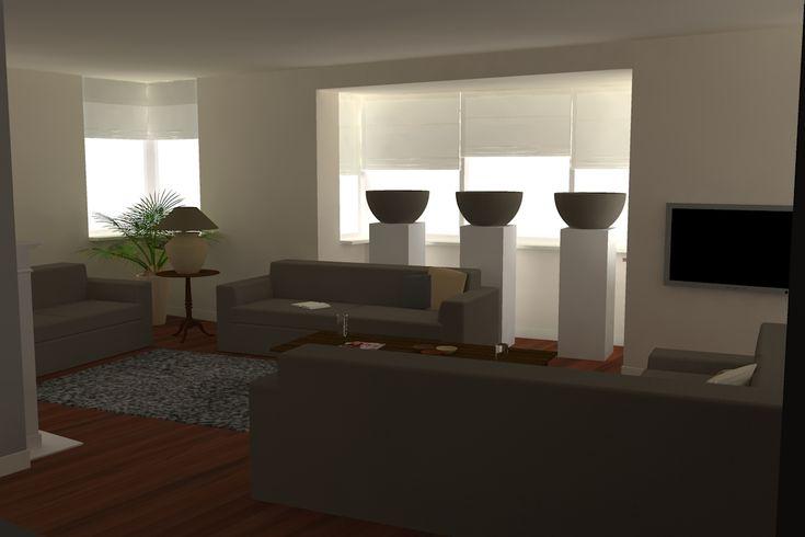 Design Heijsen - Woonkamer inrichten 3D, inrichting kamer