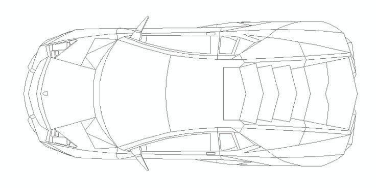 Lamborghini Reventon visto en planta