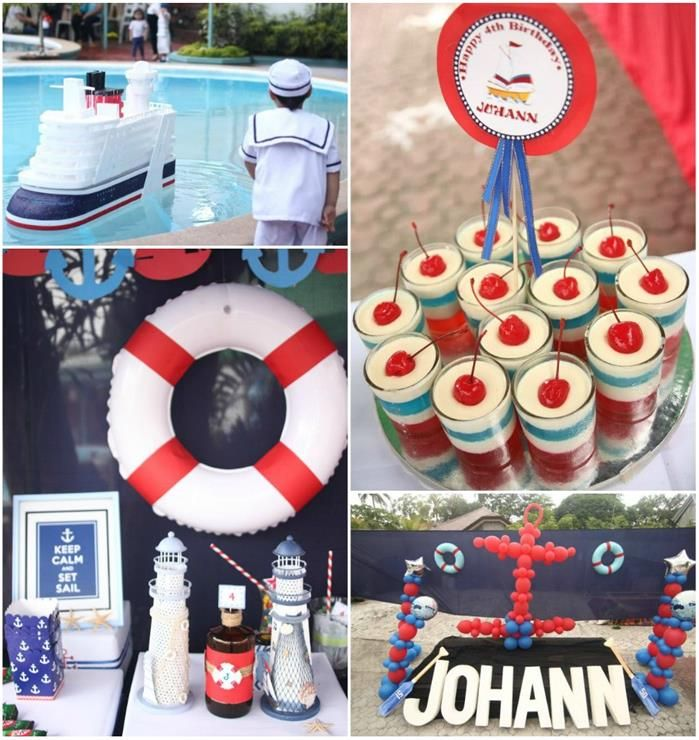 500 Best Nautical Theme 1st Birthday⛵ Images On Pinterest