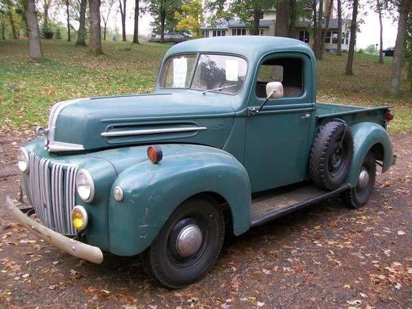 Classic 1945 Ford Truck Fordclassiccars Classic Trucks Ford Trucks Vintage Pickup Trucks