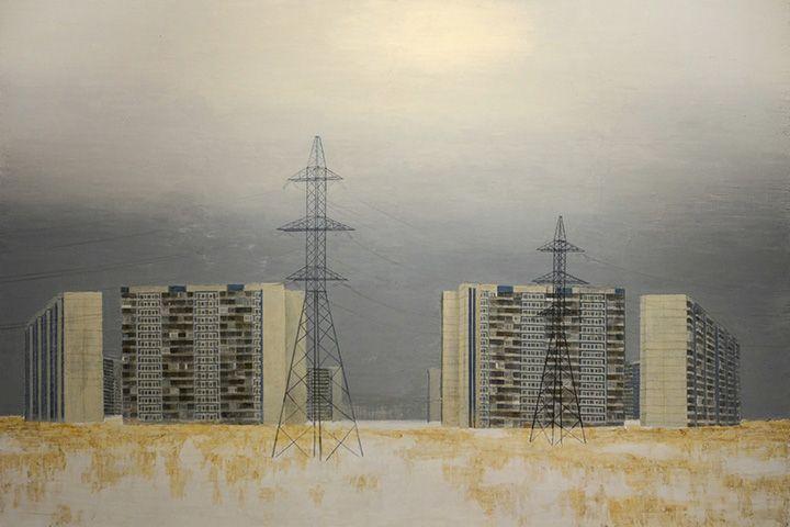 Павел Отдельнов. Стоунхендж, из серии «Внутреннее Дегунино», 2013