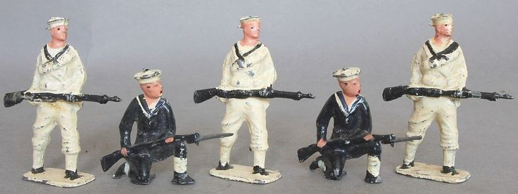 John Hill And Co Lead Royal Navy Figures in Toys & Games, Toy Soldiers, Vintage | eBay!