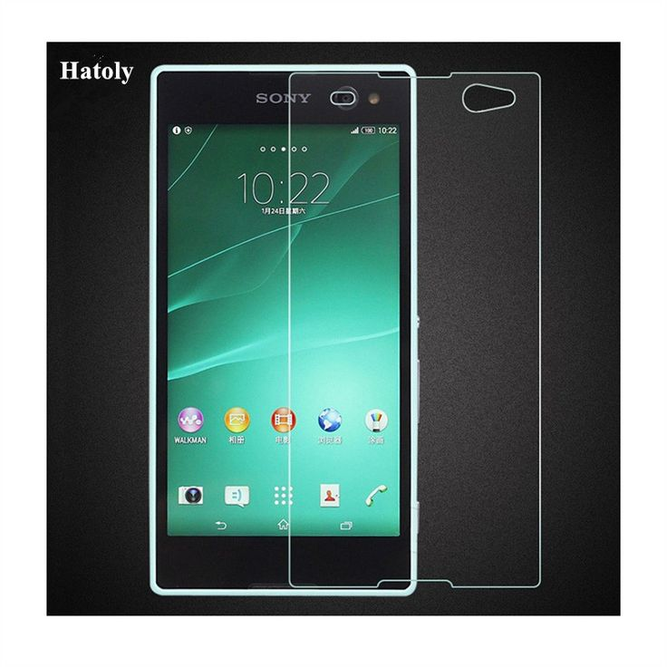2PCS Tempered Glass For Sony Xperia C3 Ultra-thin Screen Protector for Sony Xperia C3 D2533 C3 Dual HD Toughened Protective Film