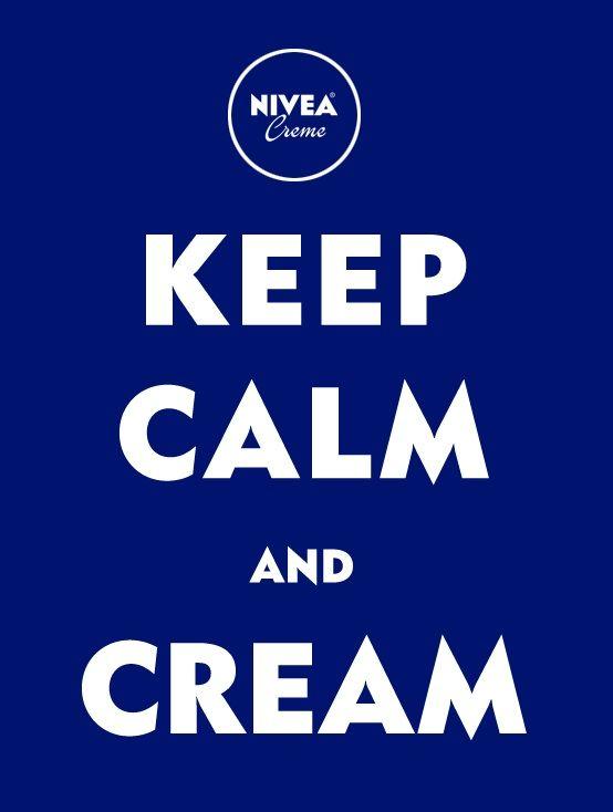 Spröde Haut? Bleib ruhig und nimm NIVEA. #nivea #wishes