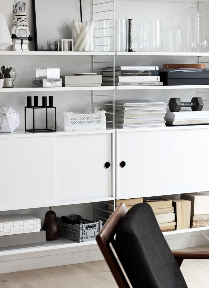 String System by Nils Strinning from String Furniture | Scandinavian interior