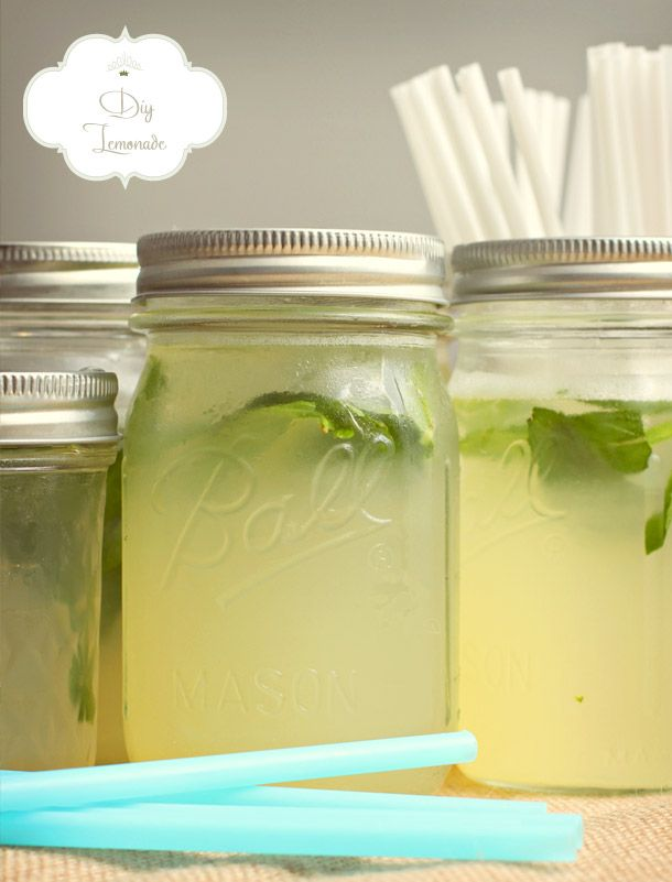 DIY Zitronenlimonade für die Sommerparty