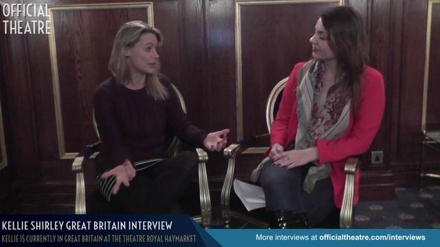 Kellie Shirley Interview Great Britain