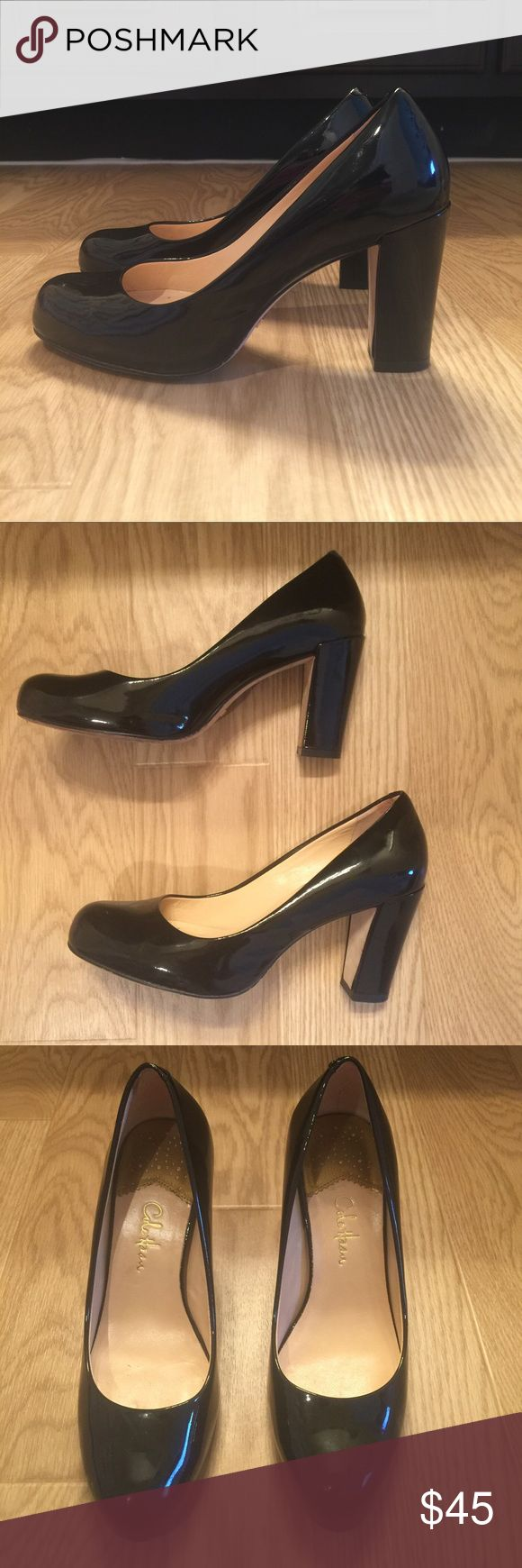 Cole Haan Shoes.  Size 6B Beautiful black leather Cole Haan pumps! Cole Haan Shoes Heels