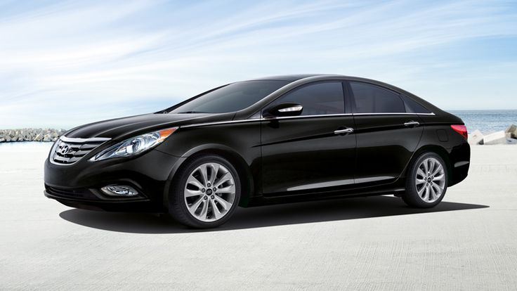 2013 SONATA LIMITED IN MIDNIGHT BLACK