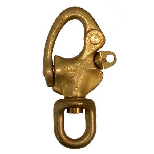 Classic Boat Supplies - Brass Snap Shackles - Swivel Eye, $32.96 (http://shop.classic-boat-supplies.com.au/boat-hardware/rigging/brass-snap-shackles-swivel-eye/)