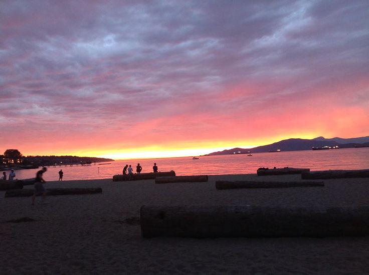Kitsilano Beach, #Vancouver, #Canada