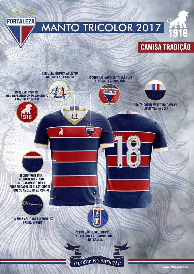 Já viu os detalhes do novo manto tricolor? É hora de vestir a camisa e apoiar o Leão! http://leao1918.com.br  #CamisaTradição #Leão1918