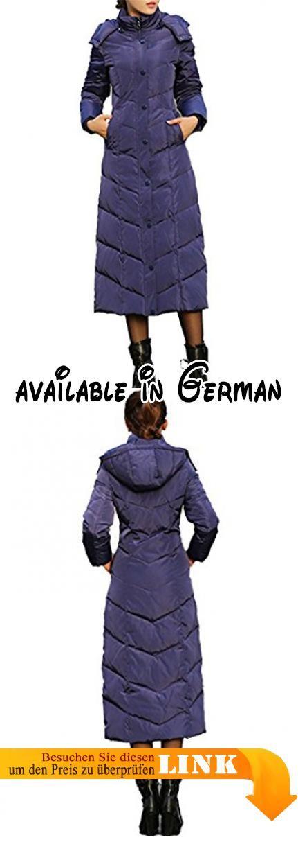 B014KR7Q82 : queenshiny Damen Lange Daunenjacke Mantel Jacke mit Kapuze unterhalb der Knie Winter Blau 44. Material: 100% Polyester. Zwei Einschubtaschen. Länge ca. 116cm. bitte sagen Sie mir Ihre Messungen so dass wir senden das Einzelteil besser passen Sie. Höhe (cm) Gewicht (kg) Brust (cm) Taille (cm) Hüften (cm). Bitte beachten Sie dass Commlook ein gefälschter Verkäufer ist. Wir haben keinen Dritten berechtigt unsere Produkte zu verkaufen.