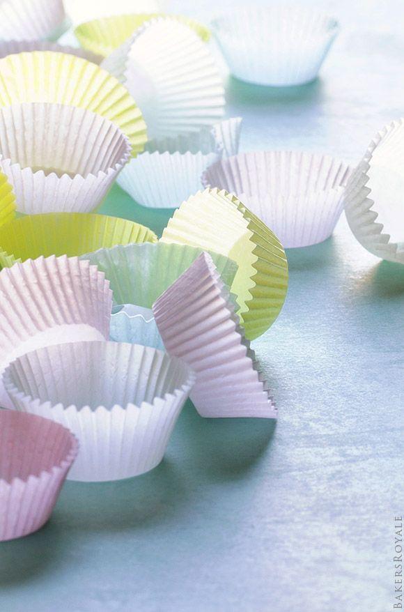 Pastel Cupcake Liner | Bakers Royale