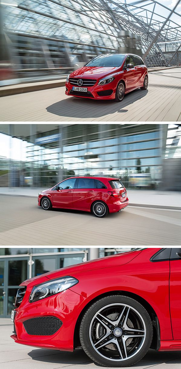 B prepared for the holidays with the Mercedes-Benz B-Class. This model is sporty, family-friendly, and modern-looking - because true holiday trip begins with a relaxing journey to your destination.