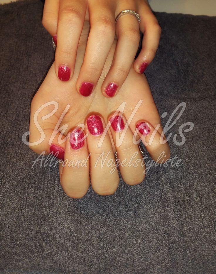 Gellak op de natuurlijke nagels #nails