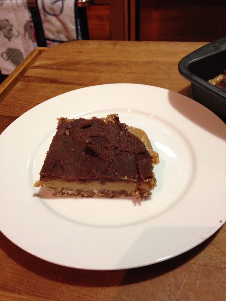 Raw caramel slice . Amazing . no sugar, no baking, very healthy without the fats! Recipe found at raw blend.com.