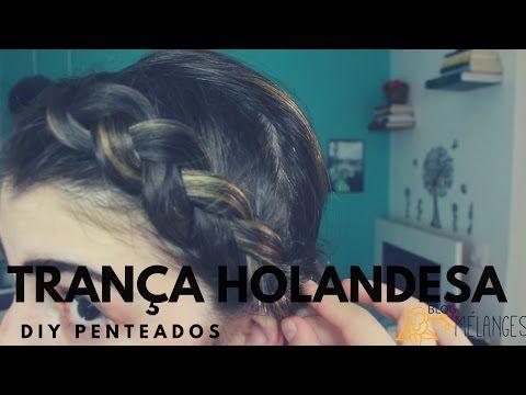 Trança kardashian  Intro - Como fazer trança alemã/holandesa - YouTube