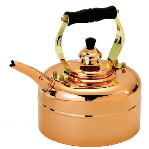 Found it at Wayfair - Copper 3 Qt. Tri Ply Windsor Whistling Tea Kettle