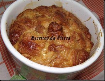 Caramel croissant pudding ( Pudim de caramelo e croissant) - http://www.mytaste.pt/r/caramel-croissant-pudding--pudim-de-caramelo-e-croissant-4780203.html
