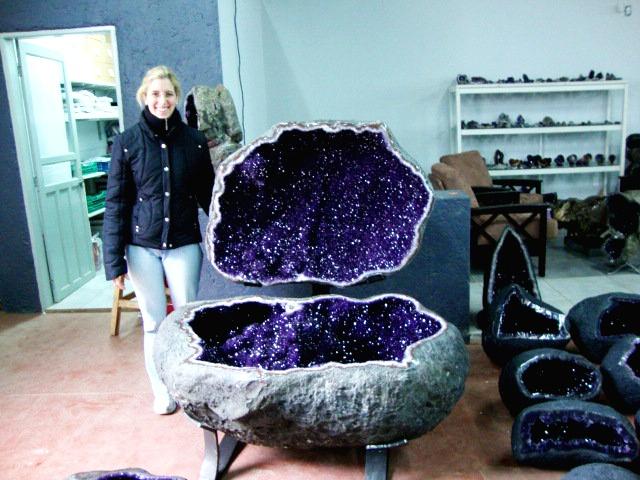 Amazing Intact Amethyst Geode Bathtub Size Geode