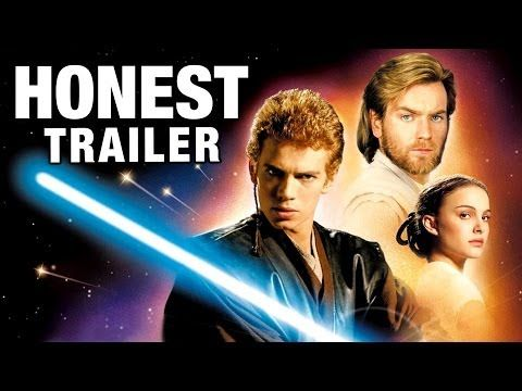 Honest Trailers - Star Wars: Episode II - Attack of the Clones - YouTube