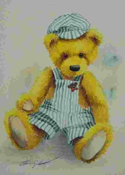 Donna Gilbertson —  Casey Bear   (431x600)