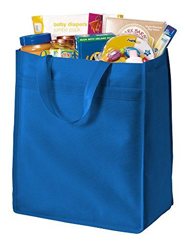 Amazon.com: JOE 'S EE. UU. – Bolsas de polipropileno las compras de comestibles bolsa en 5 colores: Clothing
