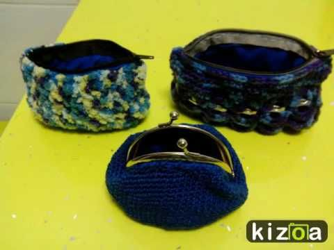 Kizoa Editar Videos - Movie Maker: Monederos y bolsos a ganchillo