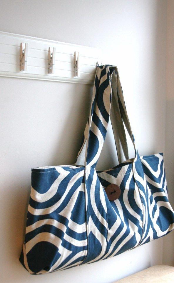Yoga bag sew along tutorial