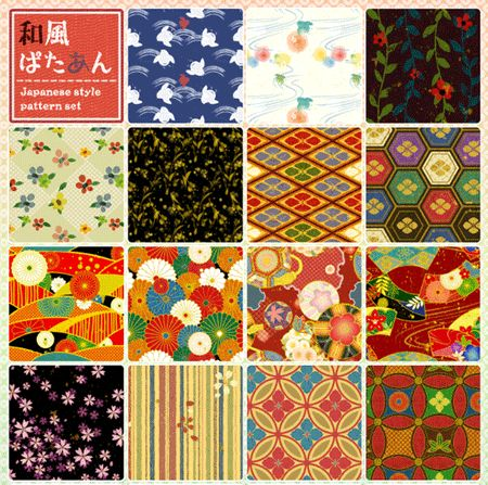 Japanese Pattern for Corel Draw